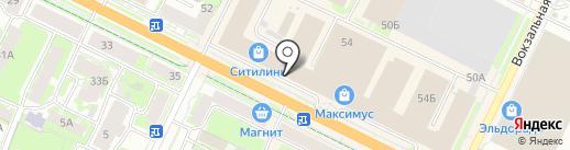 FootTerra на карте Пскова