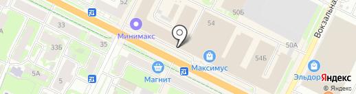NMS Style на карте Пскова