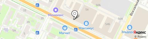 Ирина на карте Пскова