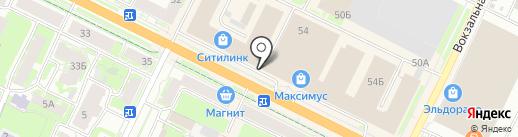 Коттон Люкс на карте Пскова