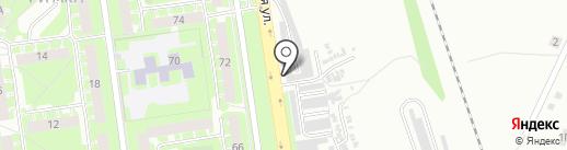 МихАВто на карте Пскова