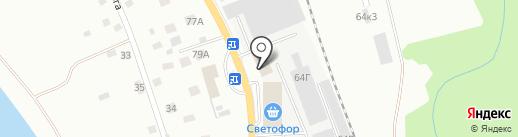 Торгстройсервис на карте Пскова
