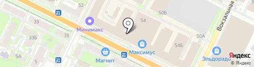 X-Side на карте Пскова