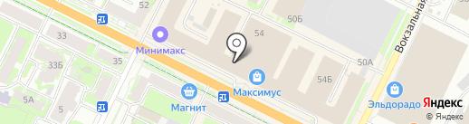 Viking на карте Пскова