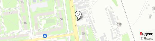 Подкова на карте Пскова