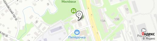 Светлячок на карте Пскова