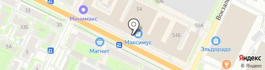 Фэн-Шуй на карте Пскова