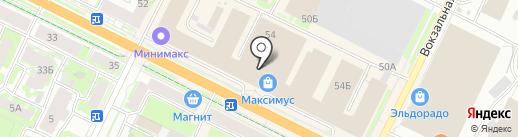 1000 и одна сумка на карте Пскова