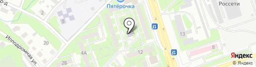 Надежда на карте Пскова