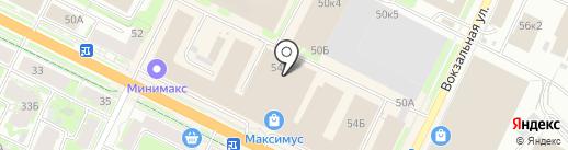 Королевский размер на карте Пскова