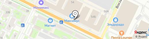 Yota на карте Пскова