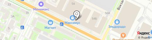 Sauvage на карте Пскова