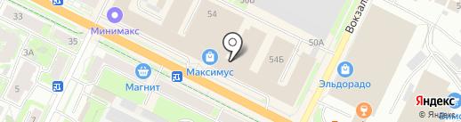 Юлия на карте Пскова