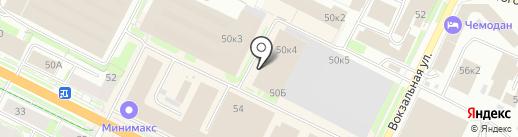 Инженер-Энерго на карте Пскова