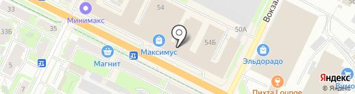 Эталон на карте Пскова