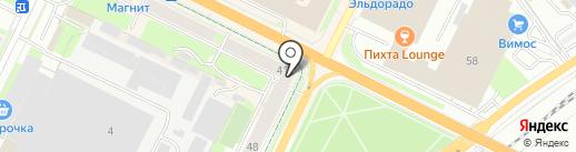 Стиль на карте Пскова