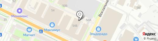 DPD на карте Пскова