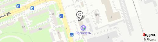 Домашняя мебель на карте Пскова