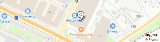 TODES на карте Пскова