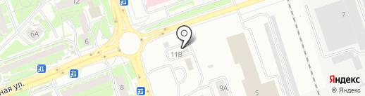 Автомойка самообслуживания на карте Пскова