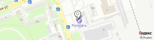 Мир Инструмента-СПб на карте Пскова