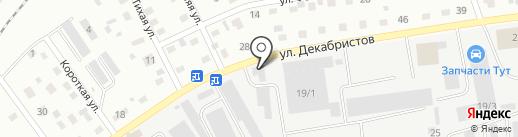Чистый град на карте Пскова