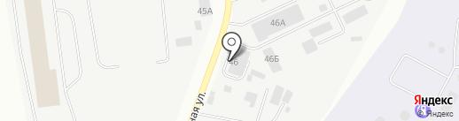 Строительная база на карте Пскова