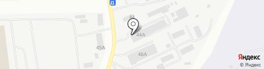 Удачный гном на карте Пскова