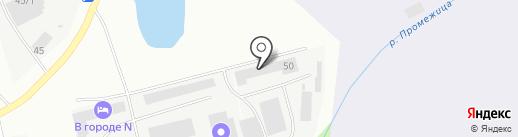 ПМК-5 на карте Пскова