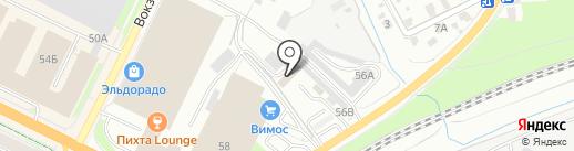 Стил на карте Пскова