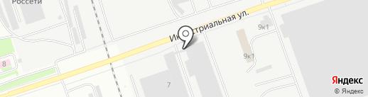 Завод Точлит на карте Пскова