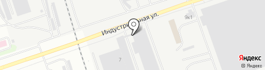 Точлит на карте Пскова