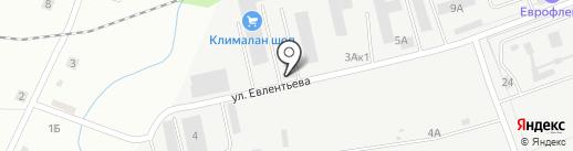 ПРОК на карте Пскова