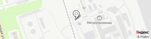 Полипласт на карте Пскова