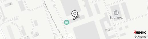 ОКЗ Холдинг на карте Пскова