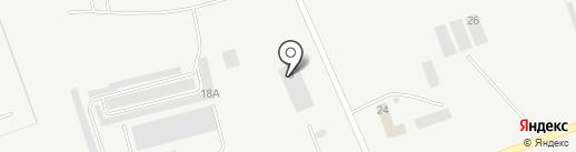 Псковское Автомобильное Сообщество на карте Пскова