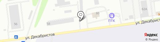 ЗАВОД ПСКОВЭЛЕКТРОЩИТ на карте Пскова