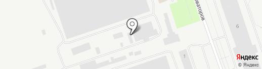 АвтоТехЦентр на Новаторов на карте Пскова