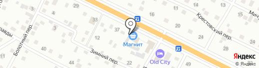 Вента на карте Пскова