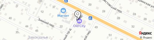 Old City на карте Пскова