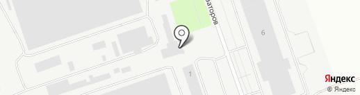Сова на карте Пскова