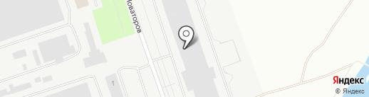 Дула РУ на карте Пскова