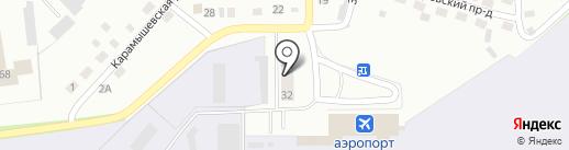 Системы Безопасности и Охраны на карте Пскова