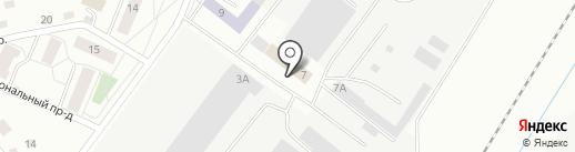Центр временного содержания иностранных граждан и лиц без гражданства, подлежащих административному выдворению за пределы РФ, депортации или реадмиссии на карте Пскова