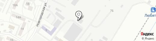 Адвокатский кабинет Ордина Ю.Л. на карте Пскова