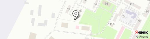 Сервис на карте Пскова
