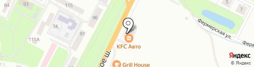 KFC на карте Пскова