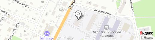 Автофургончик на карте Пскова
