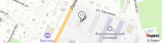 Кудри+ на карте Пскова