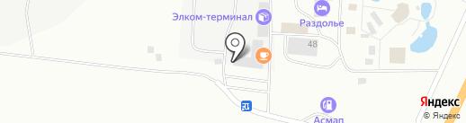 Зенча.Маркет на карте Пскова